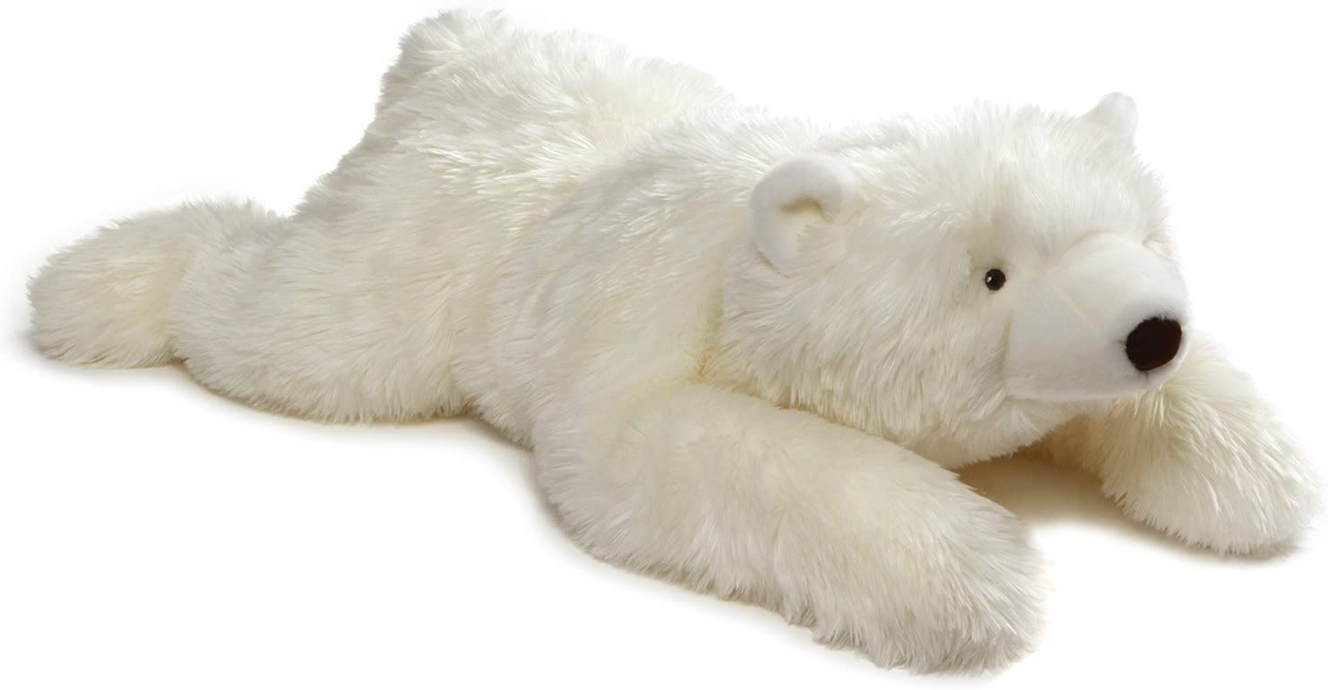 "GUND Philip Polar Teddy Bear Jumbo Stuffed Animal Plush, White, 39"""