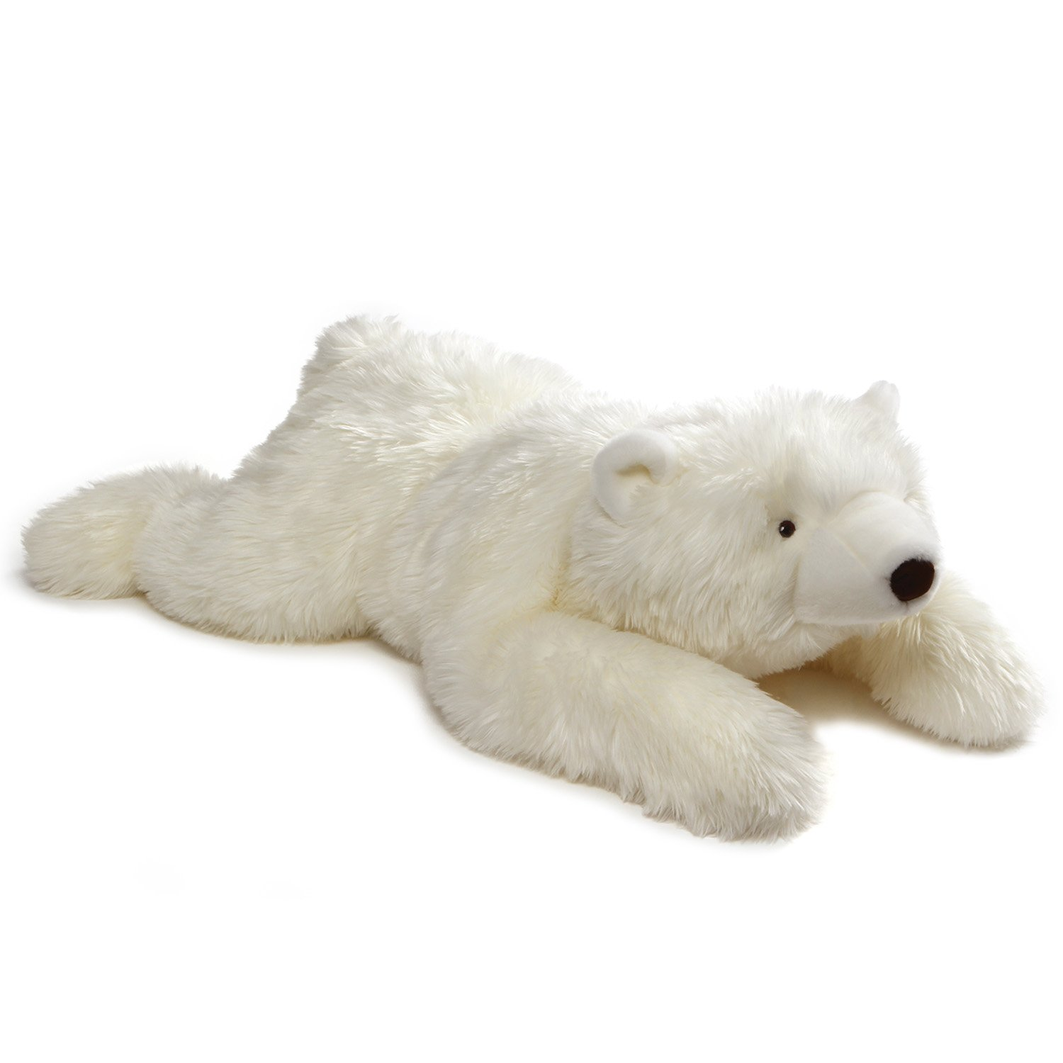 GUND Philip Polar Teddy Bear Jumbo Stuffed Animal Plush, White, 39''
