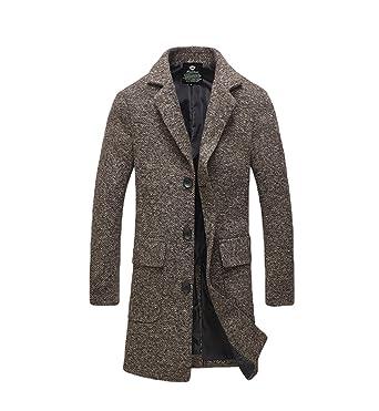 cappotto lana grosso uomo
