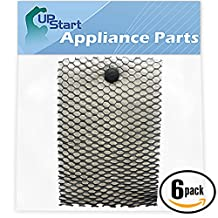 6-Pack Replacement HWF100 Humidifier Filter for Holmes, Bionaire, Sunbeam - Compatible with Holmes HM630, Bionaire BCM646, Holmes HWF100, Sunbeam SCM630, Bionaire BCM740B, Sunbeam SCM7808, Bionaire BWF100, Sunbeam SCM2412, Sunbeam SCM2410