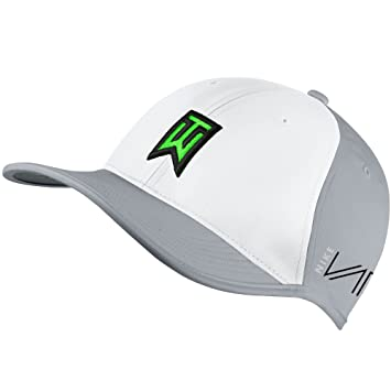 Nike NEW Tiger Woods Ultralight RZN Vapor Wolf Grey White Adjustable Hat Cap   Amazon.co.uk  Sports   Outdoors fcbd50532c9