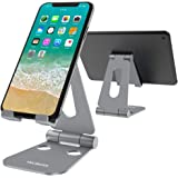 Tecboss Foldable Tablet Stand,Cell Phone Stand Multi-Angle Adjustable Desktop Holder for Nintendo Switch, iPad, iPhone X…