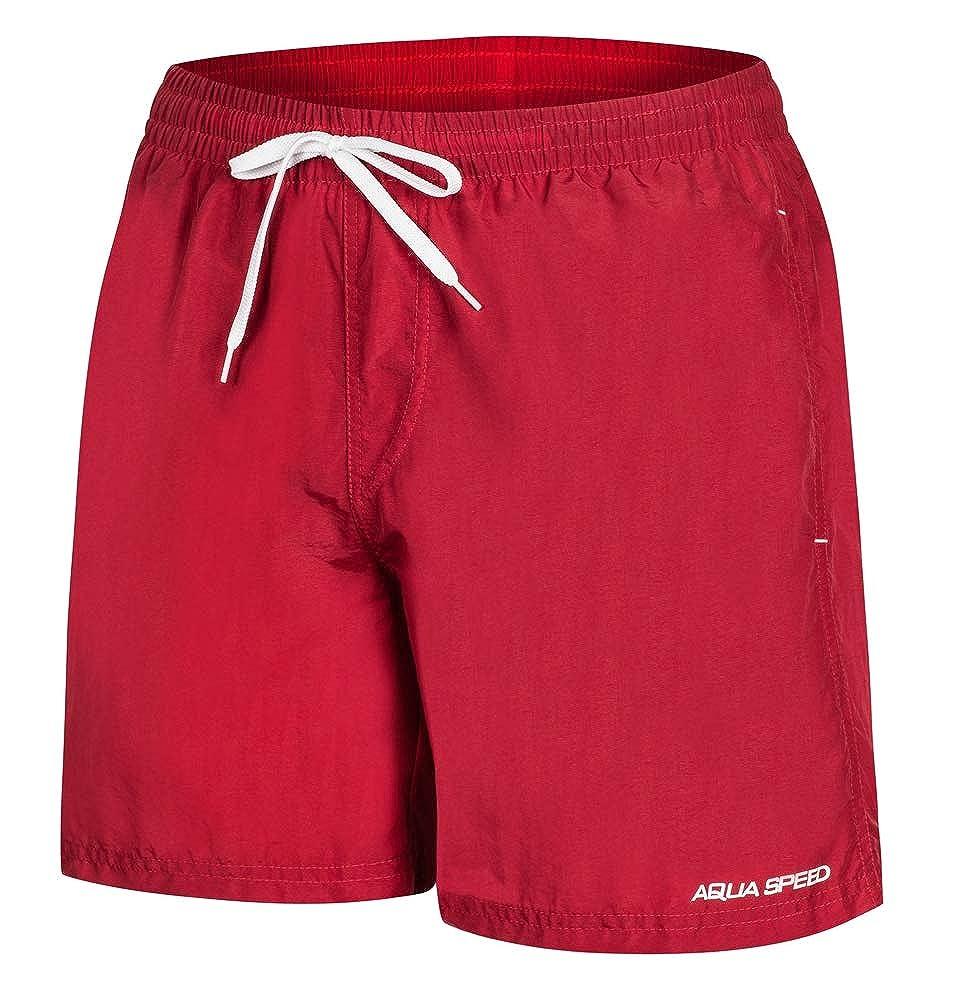 Aqua Speed 5908217666895 Remy Swim - Bañador para Hombre, Talla XXL, Color Rojo