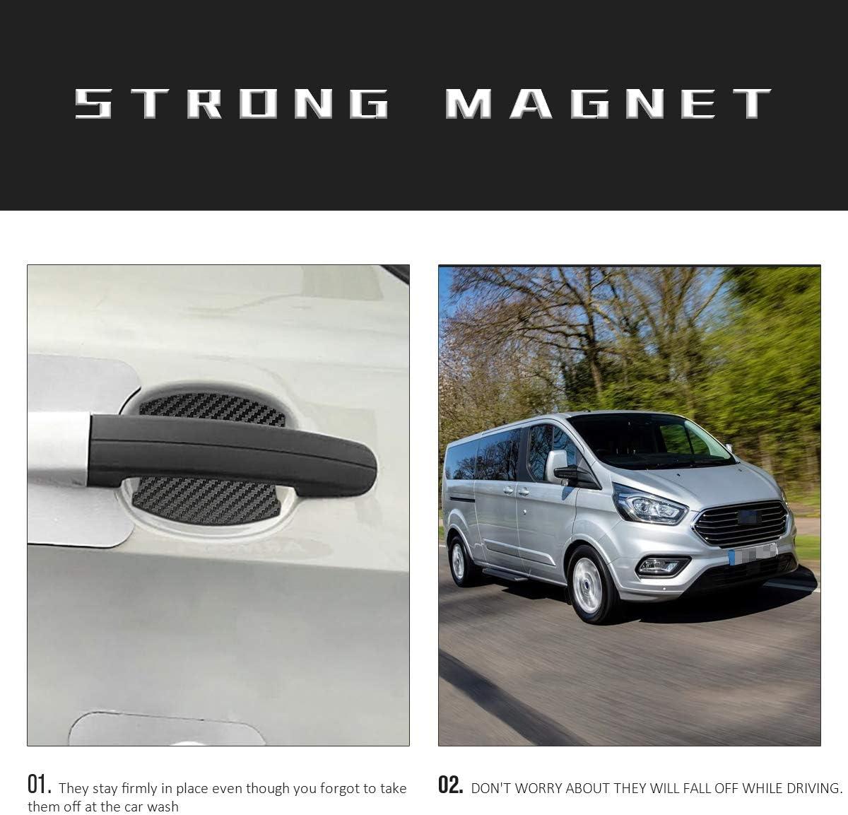 MLING Auto Magnetisch T/ürgriffmulde Schutz Kratzfest T/ürgriffmulde Lackschutz 4 St/ück Kompatibel f/ür Tourneo Custom