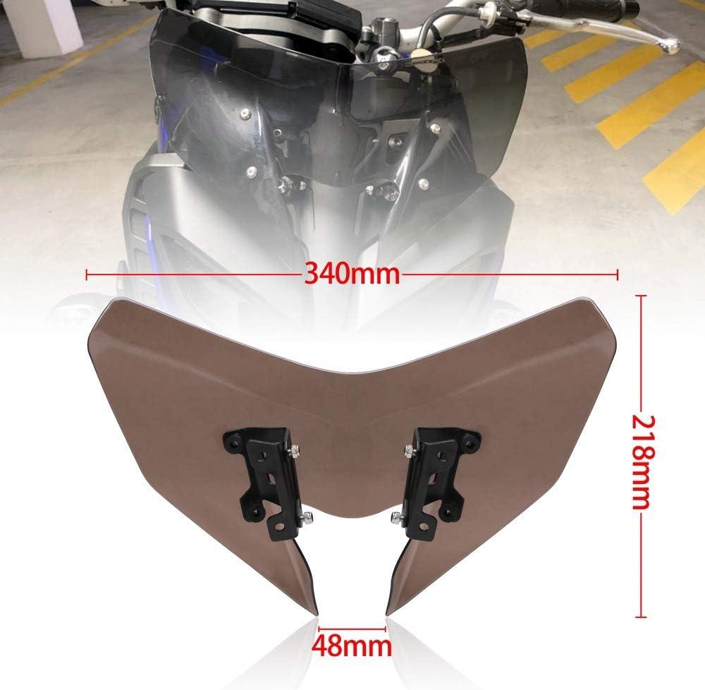 SP FZ-09 2017-2020 18 19 Pare-Brise Pare-Brise Moto D/éFlecteurs de Vent MT-09SP MT09 FZ09 MT FZ 09 Nrpfell Pare-Brise pour MT-09