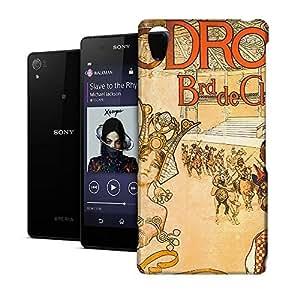 Phone Case For Sony Xperia Z2 - Hippodrome French Art Deco Hardshell Slim