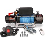 X-BULL Synthetic Rope Winch-13000 lb. Load Capacity