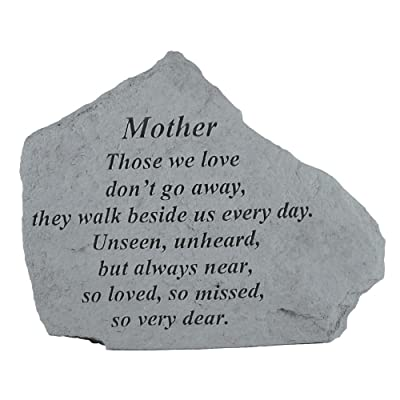 Kay Berry- Inc. 15020 Mother Those We Love - Memorial - 6.875 Inches x 5.5 Inches : Outdoor Decorative Stones : Garden & Outdoor
