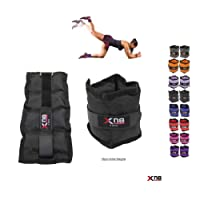 Xn8 Sports Ankle Weights Velcro Adjustable Resistant 0.5kg 0.75kg 1kg 1.5kg 2kg 2.5 kg 3kg 4kg 5kg Leg Wrist Strap Running Cross Fitness Gym Training Exercise