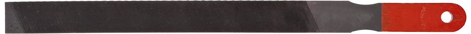 10 Length 31//32 Width 3//16 Thickness American Pattern Coarse Simonds Mill Paddle Hand File with Handle Single Cut Black Oxide Coating Rectangular