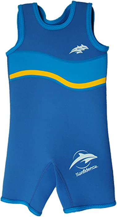0c3b7411a9 Amazon.com   Konfidence Warm Wetsuit - Nautical Wave Blue (2-3 Years ...