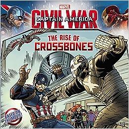 Captain America Civil War Comic Book