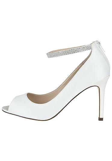 Nina Shoes Damen High-Heel Peeptoe REMINI Gel-Polsterung