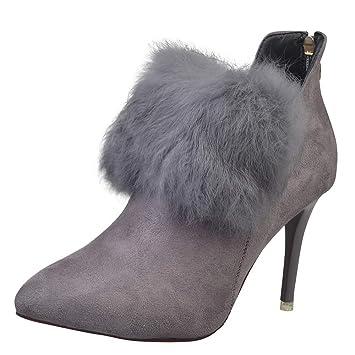 a7d6f444d65 Amazon.com: Besde Women's Fashion Tassel Zipper Martin Booties Wedge ...