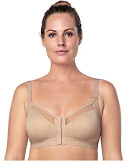 e03fadb8c Leonisa Back Support Posture Corrector Wireless Sports Bra for Women with  Contour Cups