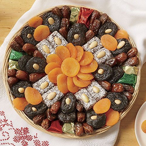1-lb. net wt. Holiday Fruit Tray from The Swiss Colony