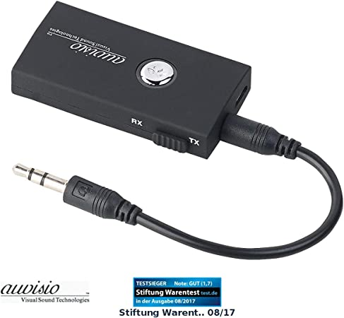 Auvisio Transmitter Receiver 2in1 Audio Sender Und Computer Zubehör