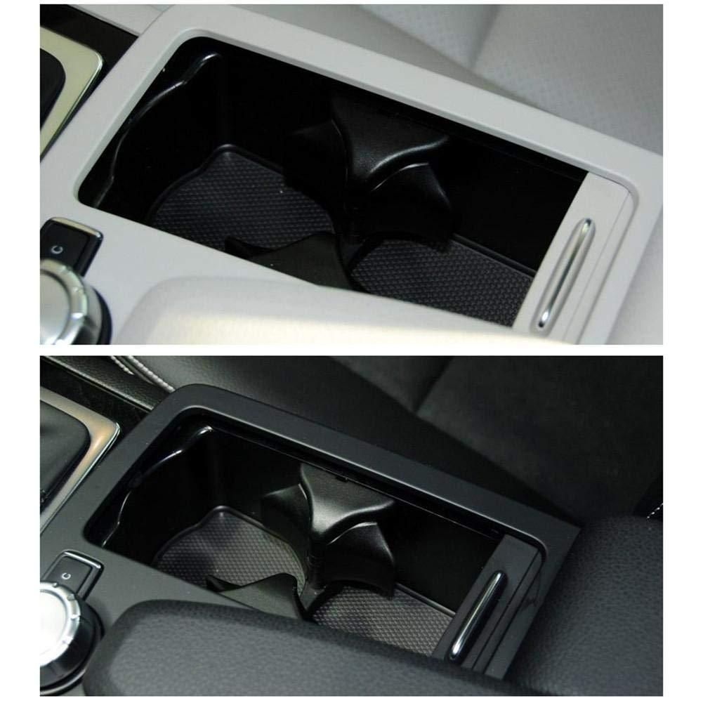 Oddity Getr/änkehalter Car Center Console Wasser Getr/änkehalter Einsatz Divider Board f/ür Mercedes-Benz C E GLK Klasse W204 W207 W212 X204