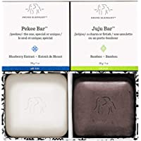 Drunk Elephant Baby Juju and Baby Pekee Bar Soap Travel Case. Exfoliating Face Wash and Moisturizing Bar Cleansers. 1…