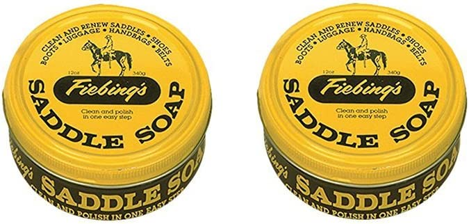 Fiebing's Saddle Soap-Yellow (2 Pack), 12 oz