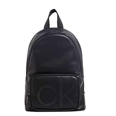 Up Ck Round black Backpack Schwarz Klein Herren Calvin Rucksack EqOxt1n4