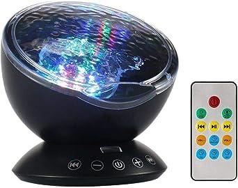 Lámpara Proyector,Luz del Sueño con Control Remoto y Reproductor ...