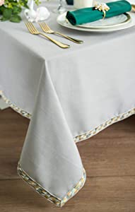 CHEERCHERRY Fancy Linen Table Cloth Picnic mats Rectangle...