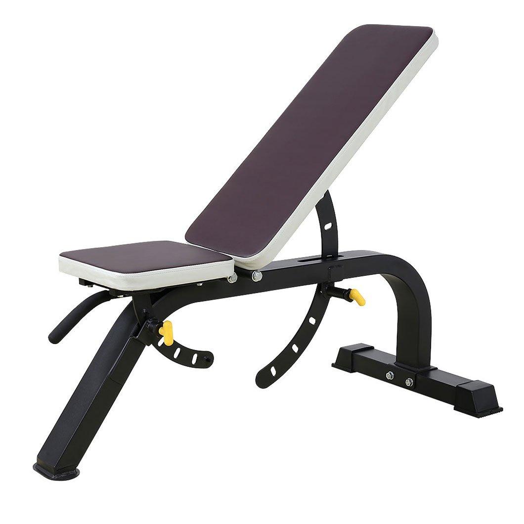 Peso ajustable banco de pesas culturismo Fitness entrenamiento de gimnasio equipo banco: Amazon.es: Deportes y aire libre