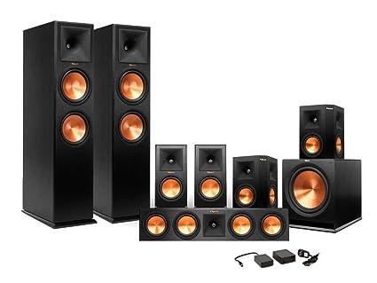 Klipsch Surround Sound >> Amazon Com Klipsch 7 1 Rp 280 Reference Premiere Surround Sound
