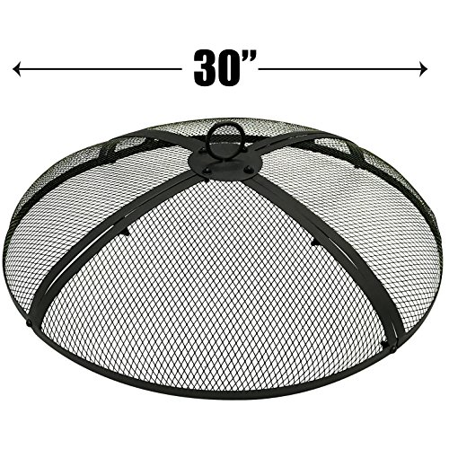 EasyGoProducts EGP-FIRE-003 EasyGo 30 INCH Round Pit Cover – FIRE Screen PROTEC, 30