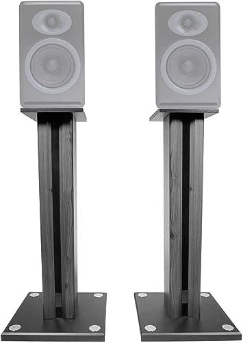 Technical Pro Pair 26 Bookshelf Speaker Stands for Acoustic Audio PSS-52 Bookshelf Speakers