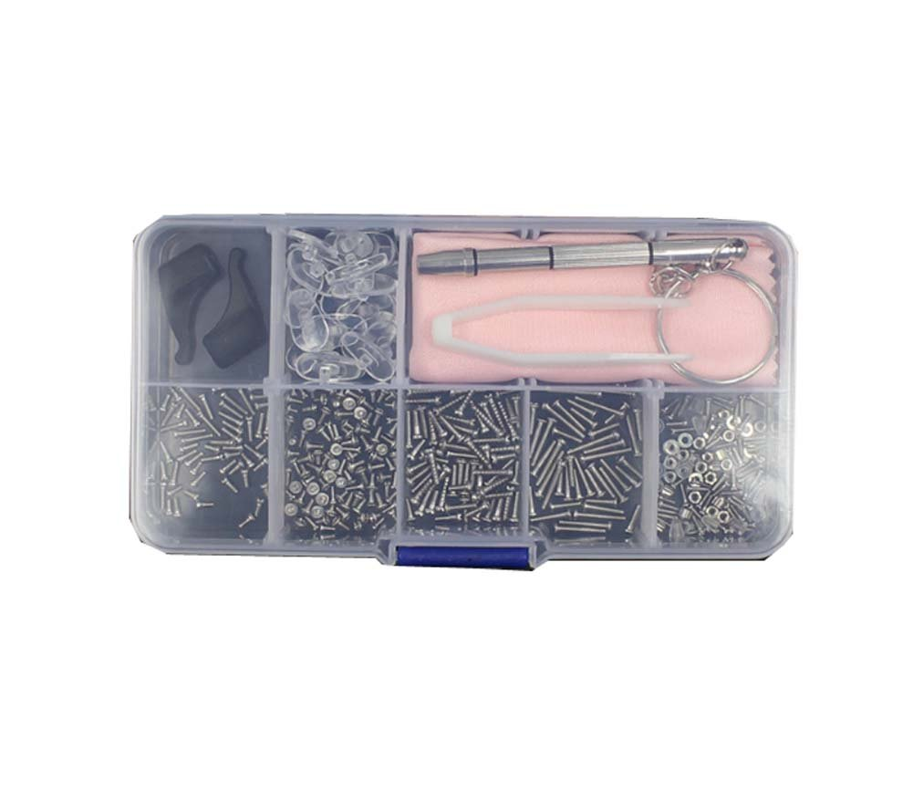 Maintenance Tool Box Glasses Small Screws Glasses Accessories Set Glasses Repair Tools