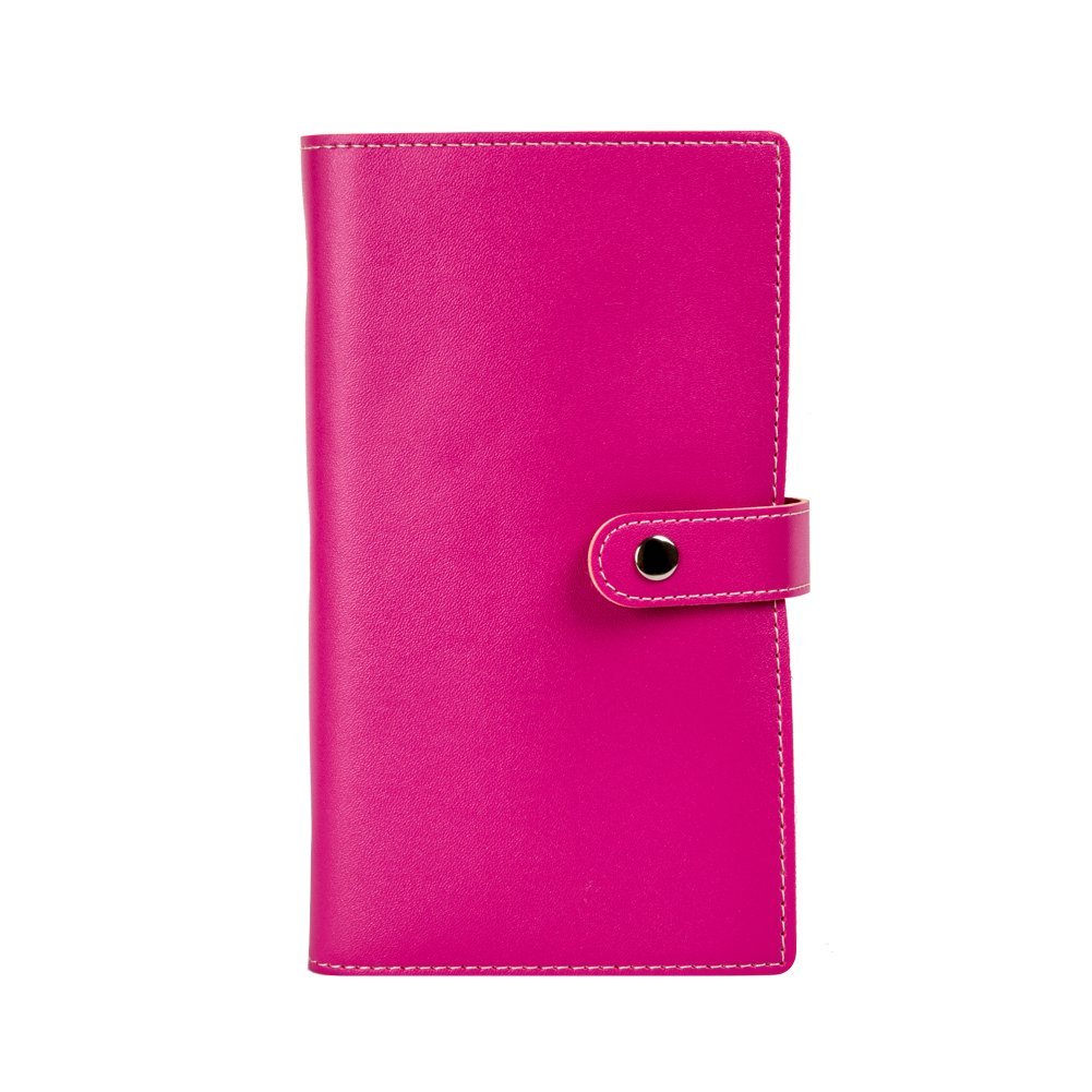 Tenn Well Business Card Books, Luxury Soft PU Leather Business Card Holders for 240 Business Card, Credit Card, ID Card (Black)