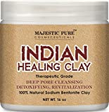 #8: Majestic Pure Indian Healing Clay Powder, 16 Oz