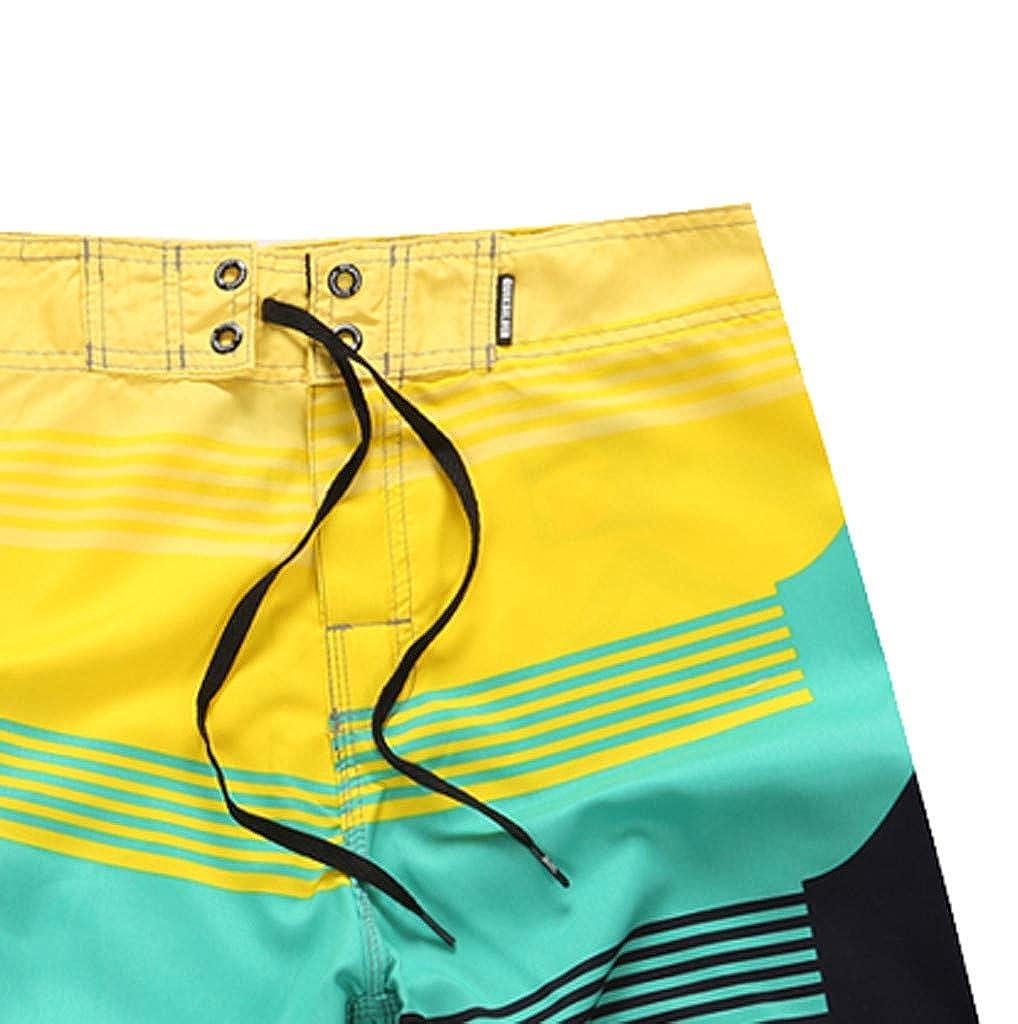 LEERYAAY Cargo/&Chinos Mens Fashion Casual Printing Beach Surfing Swimming Loose Short Pants