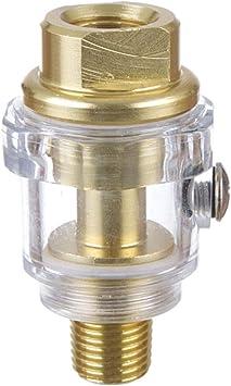 1 4 Automatischer Mini Öler Druckluft Öl Nebler Druckluft Werkzeug Leitungsöler Baumarkt