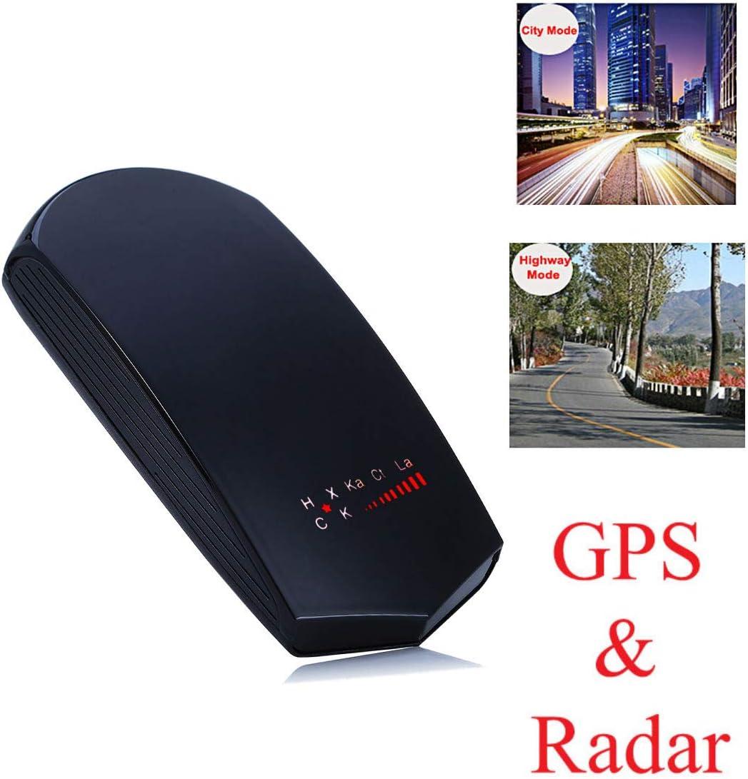 360° GPS Car Anti Radar Laser Detection Safety Speed Voice Alert Camera Detector