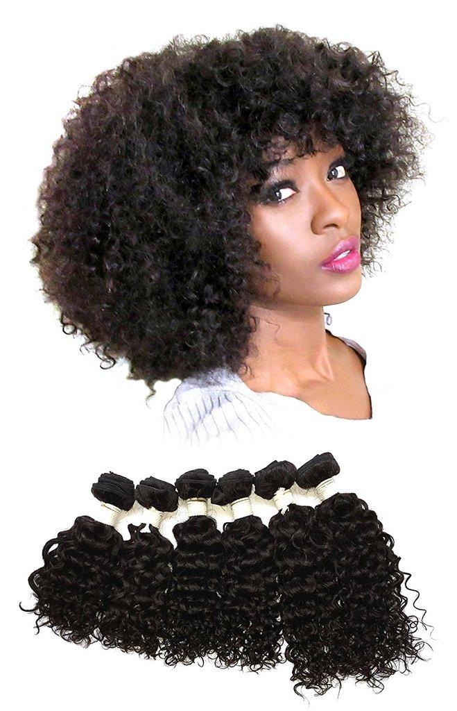 Amazon Curly Bohemian Virgin Hair 100 Human Weaving Hair 6