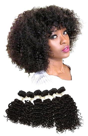 Amazon curly bohemian virgin hair 100 human weaving hair 6 curly bohemian virgin hair 100 human weaving hair 6 bundles 3 packs 300 grams pmusecretfo Image collections