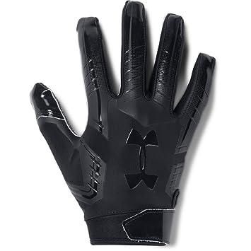 Under Armour UA Men/'s Playoff Coldgear Football Gloves Green//Yellow//White Sz XXL