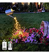 Waterproof Decoration Waterfall Vine String Lights,10 Strands 200 LEDs Hanging Twinkle Fairy Ligh...