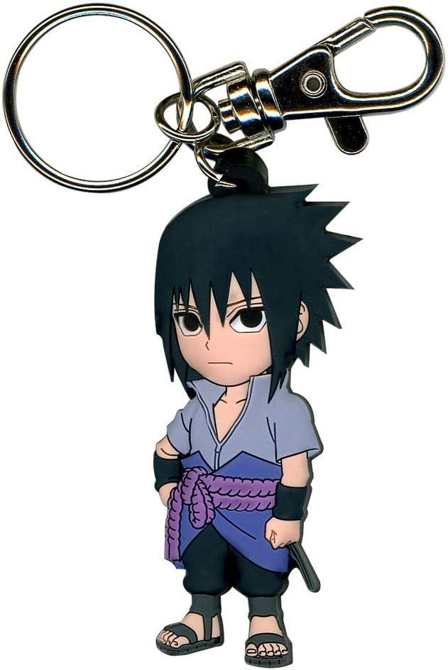 Great Eastern Entertainment 36696 Naruto Shippuden SD Sasuke PVC Keychain