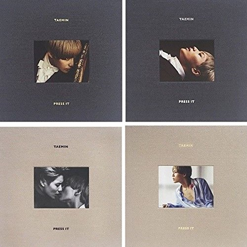 SHINEE TAEMIN [PRESS IT] 1st Album Random Ver CD+Photobook+Photocard+Tracking Number K-POP SEALED