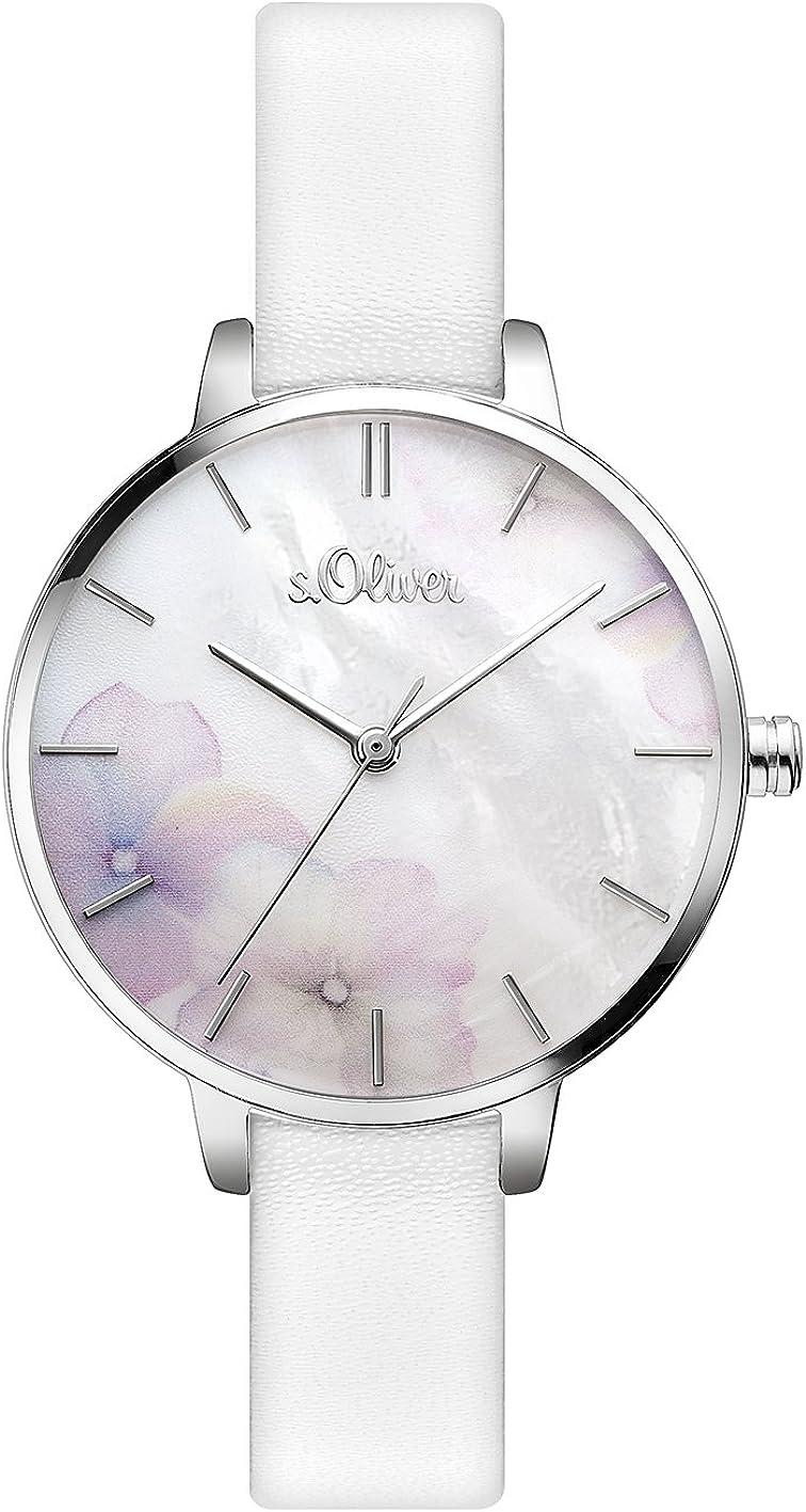 s.Oliver Damen Analog Quarz Armbanduhr SO-3522-LQ: Amazon.de: Uhren - Schmuck Online