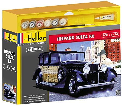 heller-50704-maquette-voiture-hispano-suiza-k6-echelle-1-24-kit