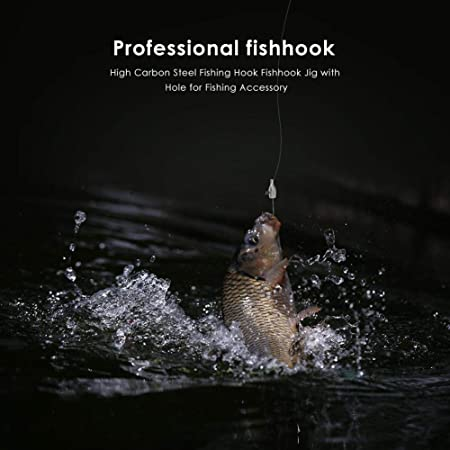 5pcs 2g Exposed Jigging Lead Sharp Head Hook Swinbait Carp Fishing Tackle