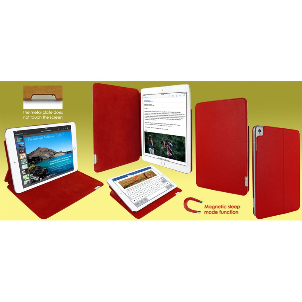 Piel Frama ''FramaSlim'' Leather Case for Apple iPad Pro 9,7'', Red (741R)