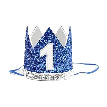 Amazon.com: Hermoso bebé corona heasband princesa niñas ...