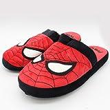 Official Marvel Superhero The Amazing Spider-Man New Plush Slip On Mule Slippers