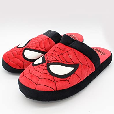 f7194945feb8 Spider-Man Slippers - UK 8-10  Amazon.co.uk  Shoes   Bags